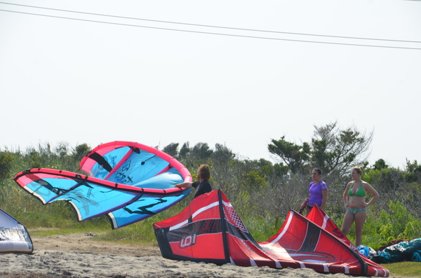 Getting ready for the SW wind in OBX