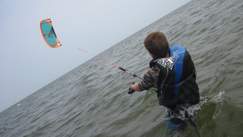 Kite control, Kiteboarding Lessons with IKO certified instructors of Kite Club Hatteras