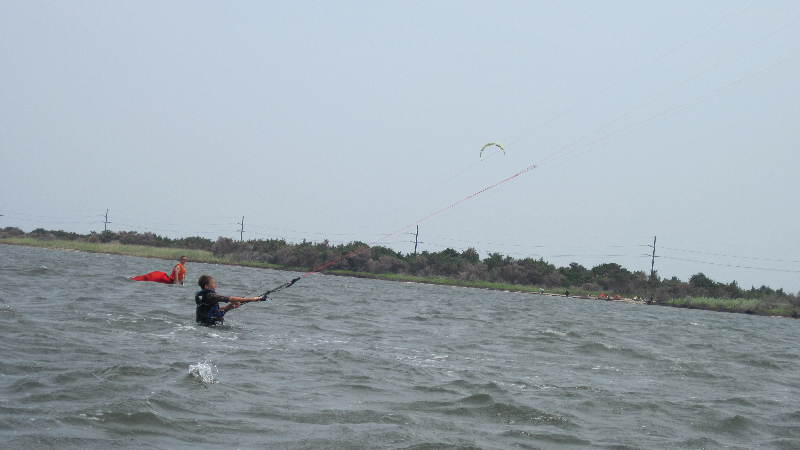 Body Dragging, Kiteboarding Lessons with IKO certified instructors with Kite Club Hatteras