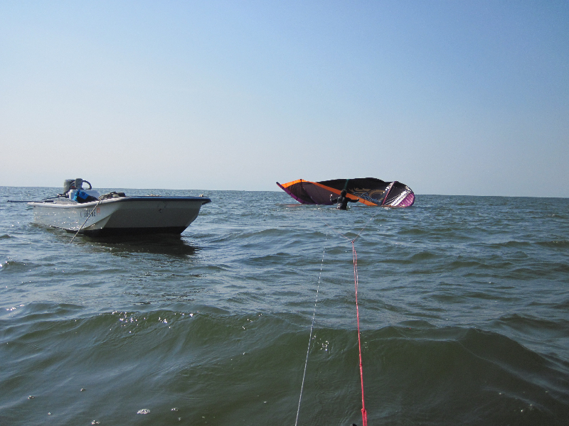 Ashley dealing with inverted kite