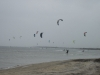 KIte Point packed with kiteboarders