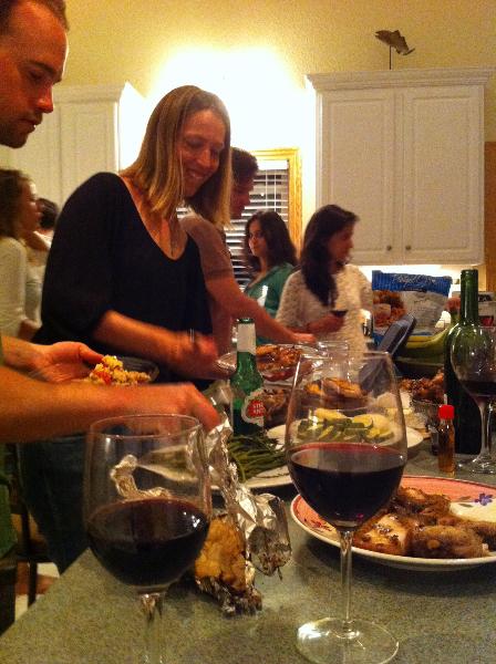 Dinner at Kite Club Hatteras