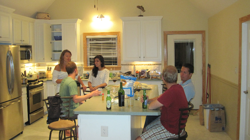Dinner Party at Kite Club Hatteras