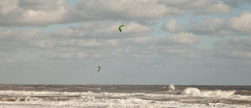 Ocracoke island kiteboarding ocean downwinder