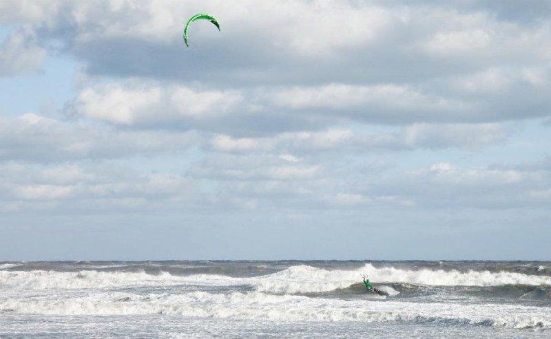 Ocracoke island kiteboarding downwinder