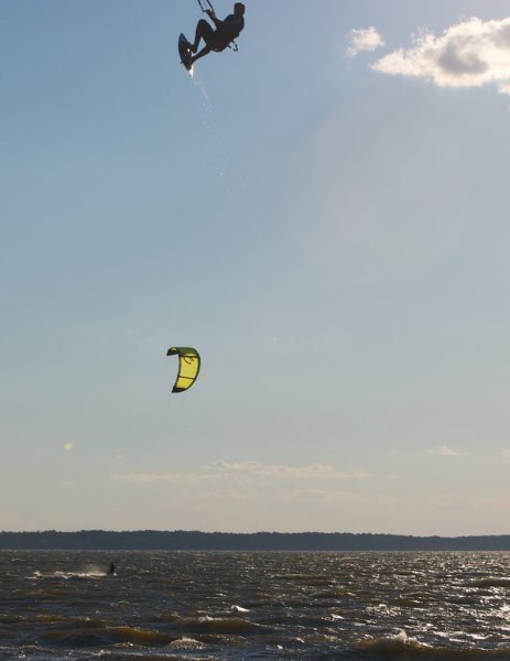 Kiteboarding at Jockey\'s Ridge with Epic Kites