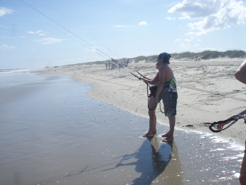 Ocracoke Island Kiteboarding Lessons with Kite Club Hatteras