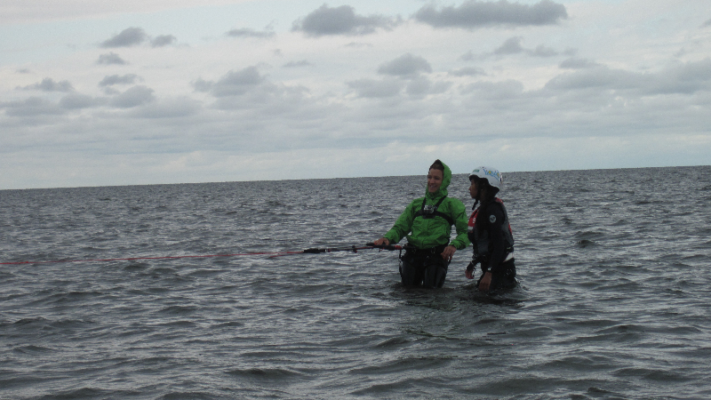 Professional Kiteboarding Lessons  with IKO certified instructors of  Kite Club Hatteras