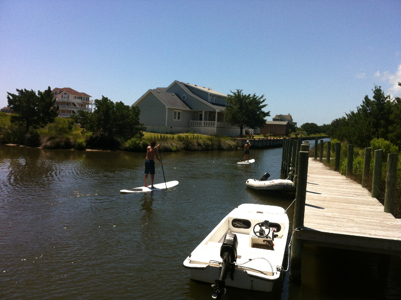 Flat and shallow water SUP Lessons