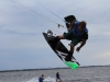 Triple S at Kite Point, Avon, NC with Kite Club Hatteras. Handle Pass KIteboarding Trick, Sui Mai