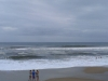 Bertha, big surf at Frisco Pier, Cape Hatteras