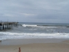 Bertha, big surf at Frisco Pier, OBX