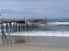Tropical Storm Bertha, we got the surf...Frisco pier, OBX