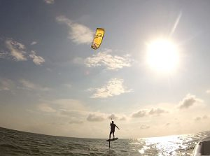 Foilboarding LEssojns with Kite Club Hatteras