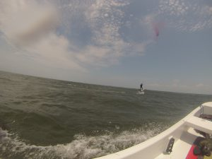 Hydrofoil lessons with Kite Club Hatteras