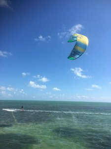 Kitesurfing the Florida Keys