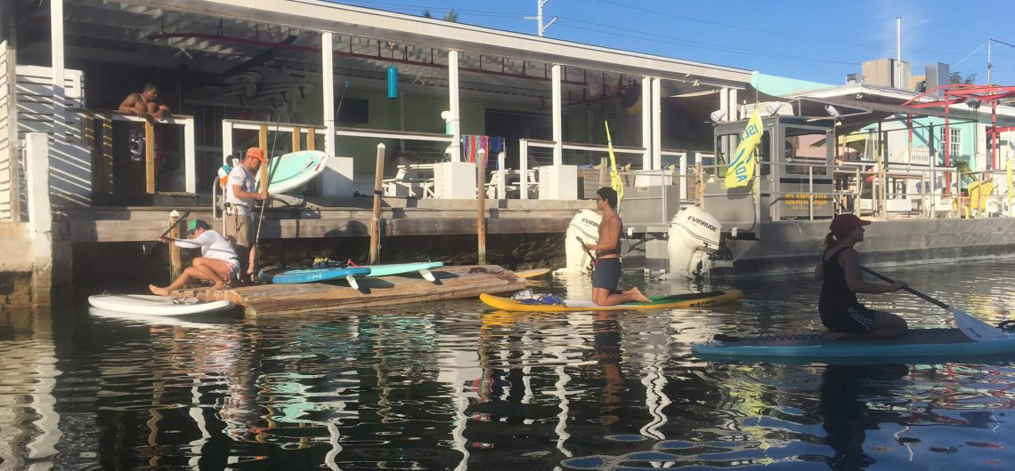 Stand up Paddleboarding the Florida Keys