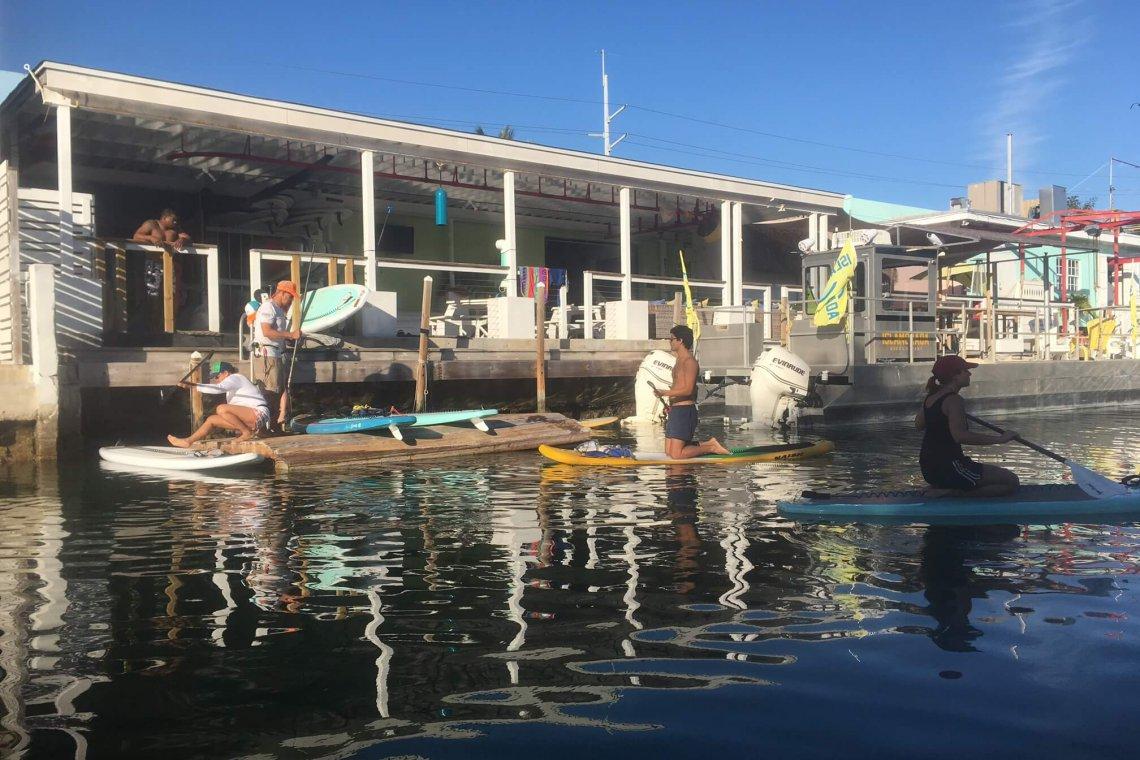 Stand up Paddleboarding the Florida Keys