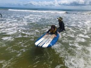 Surfing Lesson Hatteras Island
